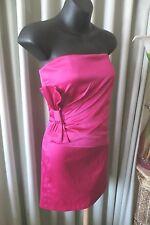 VINTAGE 50'S Style  ~  Strapless ~ Pink DRESS * Size  6 *  SALE !!