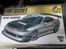 Aoshima 1/24 Top Secret s15 Silvia' 99 Nissan Model Car Kit