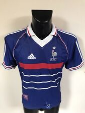 Maillot Foot Ancien Equipe De France 98 Numero 10 Zidane Taille S