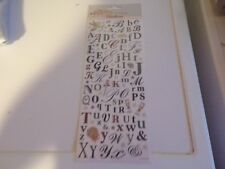 1 SHEET ALPHABET WEDDING STICKERS/SHEET = 28,5 X 12 CM BUY MORE AND GET DISCOUNT