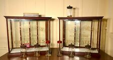 A Pair Sweet Shop Display Cabinets, Rowntree's Chocolates