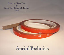 3 Meters Auto Acrylic Foam Double Sided Attachment Tape 8mm x 3 Meters