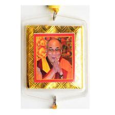 Anhänger Dalai Lama - Autoaufhänger Buddhistischer Anhänger aus Nepal mit Dorje