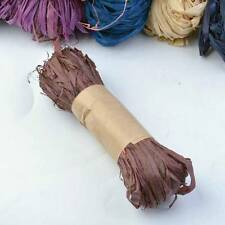 Natural Raffia Fibre Ribbon Gifts Scrapbooking Making DIY Decoration Wrapping
