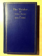 The Thinker and Other Poems by Stanton A. Coblentz 1923 HC First Edition