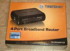 Wired Router TW100-S4W1CA Trendnet 4-Port Broadband  Brand New Sealed