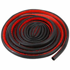 3x Waterproof 4M D Shape Vehicle Car Insulation Accessory Rubber Seal Strip Trim
