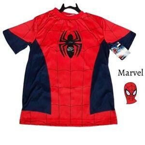 MARVEL Boys Spider-Man Short Sleeve T-Shirt Size 8/10