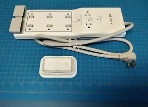 BELKIN CONSERVE SWITCH SURGE PROTECTOR WITH REMOTE