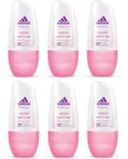 Adidas Control Cool & Care Roll-On Deodorant Antiperspirant Women 6 x 50 ml