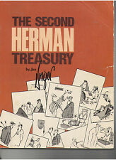 THE SECOND HERMAN TREASURY BY JIM UNGER SOFT COVER BOOK 280 PAGES 1980 OOP