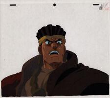 Jojo's Bizarre Adventure Anime Cel Avdol Close-Up Animation Art Araki 1993 OVA