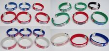 Lot revendeur de 21 bracelets pays drapeau supporter France, Angleterre etc ..
