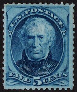US Sc# 179 *MINT RG LH* { 5c ZACHARY TAYLOR } BEAUTY BANKNOTE OF 1875 CV$ 240.00