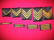 SFRJ YUGOSLAVIA-JNA ARMY/ LOT SERGEANTS AND OFFICERS    CHEST  RANKS