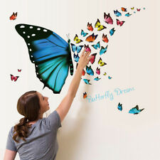 Colorful Flying Butterfly Wall Decal Wall Sticker Home Art Kids Room Stickers