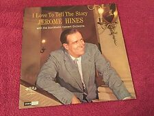 Jerome Hines I Love To Tell The Story with Stockholm Concert Orchestra Word LP