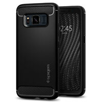 Galaxy S8 Active Spigen® [Rugged Armor] Hybrid Shockproof Slim TPU Cover Case
