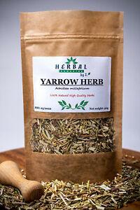 Yarrow Leaf Dried Herb (Achillea millefolium) Krwawnik ziele 50g GREAT QUALITY