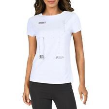 Reebok para mujer Cross Fit entrenamiento Activewear T-Shirt Atlético BHFO 2793