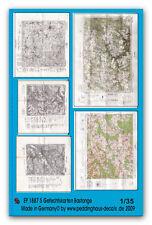 Peddinghaus 1887 1/35 5 Mappe Di Battaglia Bastonge- Stampa Su Carta