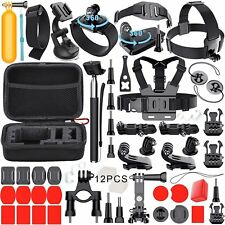 GoPro Accessories Set Action Camera Mount Diving Surfing Running Cycling Camping