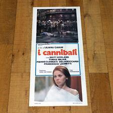 I CANNIBALI locandina poster affiche Liliana Cavani Tomas Milian 1970 V86