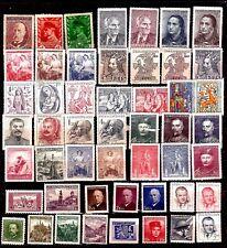 EP682 TCHECOSLOVAQUIE 50 timbres neufs : personnages importants du pays