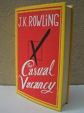J K Rowling The Casual Vacancy First Edition Hardback