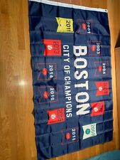 New listing New In Package City Of Boston Championship 3' x 5' Man Cave Flag
