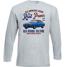 Vintage Voiture Américaine FORD CAPRI S-NEW T-shirt en coton