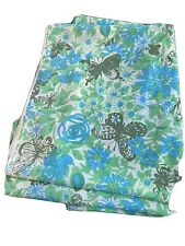 Vtg Zuzek Key West Hand Printed Fabric Lullaby Butterflies Lily Pulitzer ~3.1 Yd