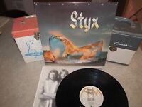 STYX Vinyl Lp EQUINOX W/Inner Original 1975 A&M