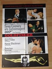 Filmposter * Kinoplakat * A1 - James Bond 007 - Goldfinger * WA 1969