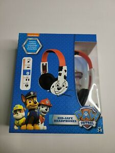 Nickelodeon Kids Paw Patrol Marshall Headphones with Built-in Safe Technology