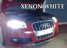 Audi A3 A4 B7 8P SUPER XENON 6000K WHITE HEADLIGHT LAMP LIGHT BULBS