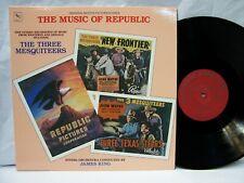 The Music of Republic JAMES KING The Three Mesquiteers 1985 Varese Sarabande NM!