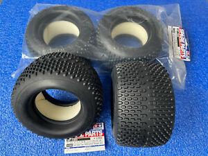 Tamiya 51303 Oval Spike Tyres 150/80 TNX 5.2R / Nitrage 5.2 ( 4X Tires ) NIP