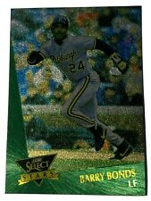 1992 Score Select Barry Bonds #7