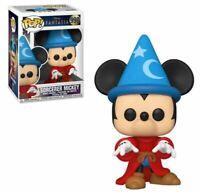 MINT Disney Fantasia 80th Anniversary Sorcerer Mickey Funko Pop Figure #990