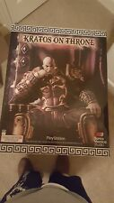 Gaming Heads God of War Kratos on Throne Exclusive Statue Ares Armor 1/4 Scale