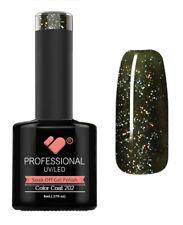 202 VB Line Black Evening Sky Glitter 8ml Nail GEL Polish - From Vbline-co-uk