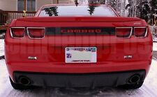 GM LICENSED, 2010+ CAMARO REAR BUMPER LETTERING COLORS UV RATED COMPOSITE