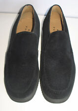 Mocasines ZAPATOS HUSH PUPPIES piel  t.36  negro Black Shoes NUEVOS/Mira Fotos