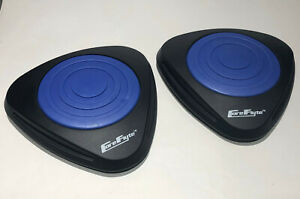CORE FLYTE Gliding Core Disc Sliders Flyte Fitness AB & Core Home Workout NWOT