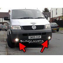 Volkswangen VW T5 Transporter Shuttle Xenon Fog Lamps Driving Lights Foglamps