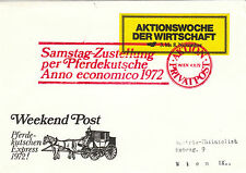 Österreich Weekend Post schöner SST 1972
