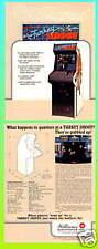 Turkey Shoot, 1984 Williams Arcade Flyer