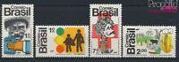 Brasilien 1352-1355 (kompl.Ausg.) postfrisch 1972 Das Land und der Men (9233690