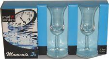 Royal Leerdam Liquer Glass Cordial Snaps Sherry Stemmed Stemware 6pcs set